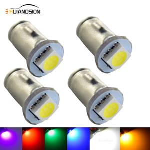 4 개 / 많은 1SMD 황색 LED 계기판 Warnning 전구 SPAHN 기본 BA7s 소형 전구 6V 노란색, 파란색, 녹색, 빨간색 분홍색