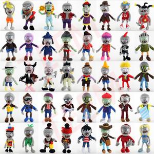 DHL 40 estilos vegetales juguetes muñecos de peluche de 30 cm muñecas zombi clásico juego de simulación de juguete de peluche lindo de los niños muñeca del regalo