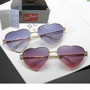 Heart LENES Shaped Sunglasses WOMEN Fashion Sun Glasses Men And Women Mirror oculos de sol New Gafas For Party Gifts