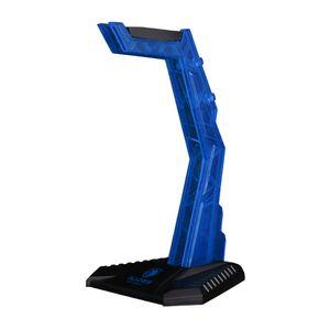 Azul Acrílico Headphone Stander Modular Headset Titular exibição Bracket