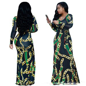 Красный Зеленый Полосатый Сексуальные женские Bodycon платья шею с длинным рукавом платья макси Летние повседневные платья