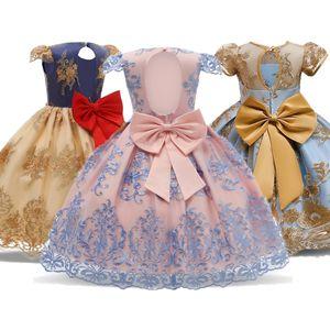 Girls Princess Dress Gorgeous Wedding Party Gown Kids Dresses for Girls Carnival Evening Costume Birthday Tutu dress Kid Vestido