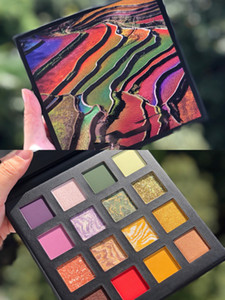 Shimmer 16colors Eyeshadow Makeup Perfect Diary China National Geographic Mashed Potatoes Streaky Pork Eye Shadow Brand Cosmetics