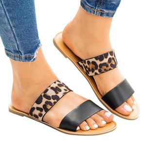 Cuña de la plataforma de las mujeres de moda blanco y negro de época romana casual-Plus Tamaño zapatillas zapatos de las sandalias de las mujeres de vacaciones # 611