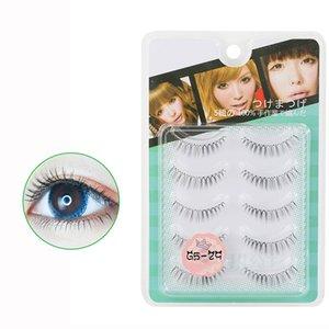 5 Pairs Handmade False Eyelashes Cross Messy Dense Natural Eye Lashes Stage Makeup False Eyelashes