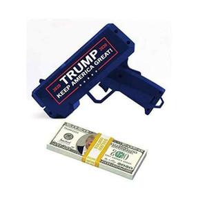 Donald Trump Geld Gun Keep America Groß 2020 Trump Printed USA President Geld Guns Mit Trump-Dollar-Schein-Party Favor ZZA2202 240PcsN