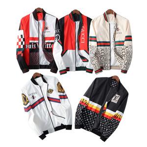 2020 Herren-Designer Jacken Luxus Brief Material Druck Kleidung lange Hülse Frauen Shirts Männer Frauen reale Label-Tag neue mit Kapuze