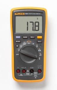 Fluke 17B + Auto Gama Digital Probe Multímetro Medidor Temperatura Frequência