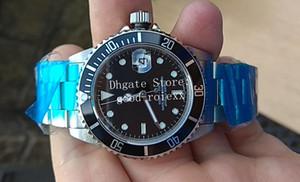 Relojes de los hombres antiguos BP Factory Vintage Mens Mensaje automático Hombres Aleación Bisel 16610 Fecha de acero 50 aniversario 16610LV Reloj de pulsera de buceo