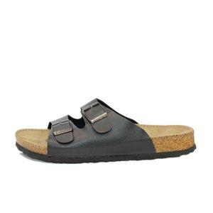 Dagnino Erkekler Yaz Plaj Boş Mantar Terlik Moda Çift Ayaklı Rahat ayakkabı Unisex Artı Büyüklüğü 35-45 A3 CX200619 Flops Ayakkabı