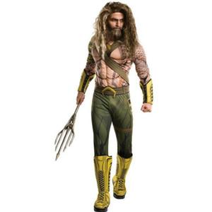 Anime Cosplay pour Aquaman My Party Vestidos Baby Boy Muscle Costume Costume pour les enfants dans Halloween Carnaval