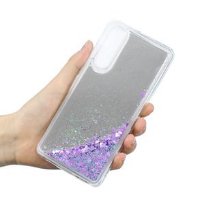 Coque P 30 Pro Liquid dinamica cassa dello specchio Quicksand scintillio per Huawei P30 Cassa p30pro copertura molle del silicone casi P30 Pro