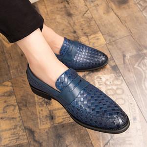 Quaoar Hommes Chaussures Tresse cuir occasionnels conduite Oxfords Chaussures hommes Mocassins Mocassins italienne pour App