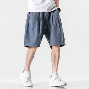 Designer men's luxury casual shorts 2020 summer tide brand trend five points overalls men's wild loose sports pants 3 colors size M-3xL-2