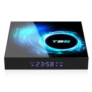 T95 Android 10 TV Box Allwinner H616 2.4G 5G Wifi 6K Bluetooth Set Top Box 4GB 64GB vs tx6 tx6s tx3 mini