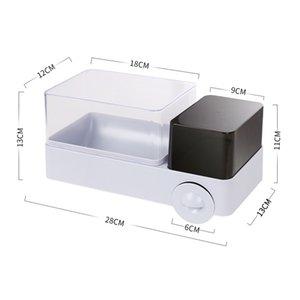 Rollenpapier Rohr Haushaltspapierhalter Badezimmer Papierserviette Boxen Tissue-Boxen Wasserdicht Rack-Durchschlag-freie Dekoration