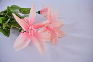 New Spot boutique del fiore di simulazione Clematis nozze per interni ed esterni display Fiore grande fiore buona pulizia