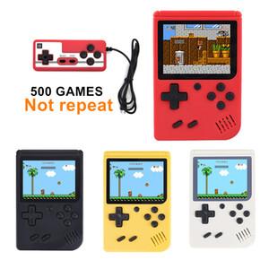 Сайт coolbaby РС-6А модерн 500 двойной игры мини портативных игровых консолей портативной игровой плеер AV-выход ФК ретро классический видео игры игрок