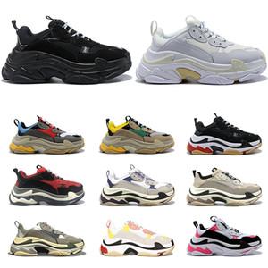 Balenciaga Luxury Triple S Designer Low Vecchio Papà Sneaker Combinazione Soles Womens Fashion Boots Mens Balenciaga Scarpe casual sportscarpe da ginnastica 36-45
