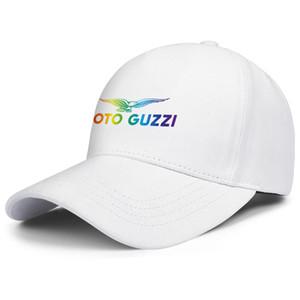 Moto Guzzi Motorcycle Gay pride rainbow mens and womens adjustable trucker cap golf fashion baseball team trendy baseballhats Mo-to old
