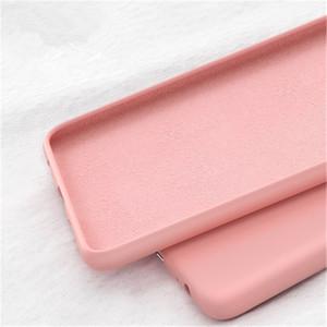 3adet Lite Pro P20 Lite her şey dahil koruyucu kılıf, anti-fall Huawei P30 için sıvı silikon cep telefonu kılıfı Şeker renkli