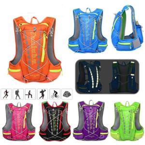 Sport Vest Water Bag zaino all'aperto pacchetto di campeggio d'escursione Hydration Packs Ciclismo Corsa fuori strada Marathon leggera e traspirante Zaino