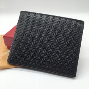 Lüks erkek deri cüzdan S F kısa klip esnaf tasarımcı kartvizit paketi kartvizitlik yüksek kalite sıcak kredi kartı tutucu