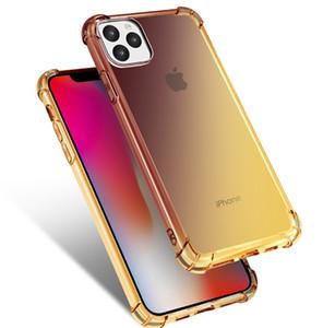 Luxe Matte Case en caoutchouc de silicone TPU souple téléphone portable Housse Coque Etui pour iPhone 11 pro max X / 8/8 Plus / 7/7 Plus / 6 6s / 6 PLUS / 6s, plus