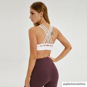 Merillat Melilee Special Summer Contrast Quergurt Yoga-Unterwäsche Beauty Running Back Sport-BH Weibliche
