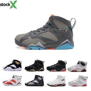 Zapatillas de deporte s zapatos calientes del baloncesto VII 7 7s jordon Mujer Hombre J7 J7 aire auténtico Nada Pero Olímpico neto Mujer Retre cigarro Deportes