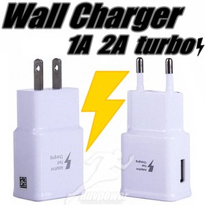 1A 2A USB EU США штепсельной вилки Wall Fast Charger и Turbo адаптер Fast Charge для Samsung HUAWEI Android все мобильные телефоны
