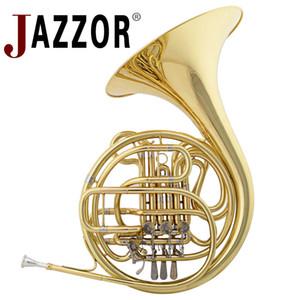 JAZZOR JZFH-310 4-key двойной валторна модель входа, BB / F Духовые инструменты валторны с мундштуком