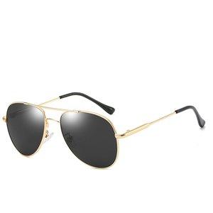Men's Polarized Accessoires Farbe Große Rahmen High-End Herren Spiegel Sunglasses Sonnenbrille Beschichtete Designer Sonnenbrille Polarized BR WSNF