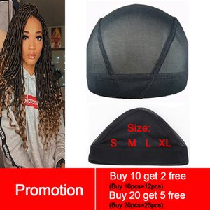 Tools & Accessories Hairnets Spandex Mesh Dome Wig Cap Easier Sew In Hair Stretchable Weaving Cap Glueless Hair Net Wig Liner
