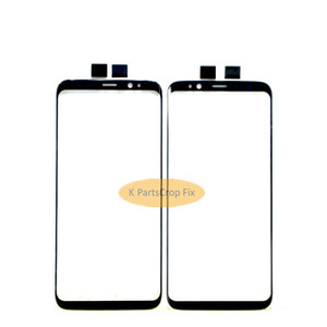 New Black Original S8 plus Replacement Front Outer Screen Glass Lens For Samsung S8 Touch Screen Panel Digitizer+Tools