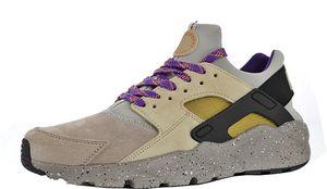 Herren Huarache Ultra Suede ID Flachs Jogging-Schuhe für Herren Huaraches Running Männlich Trainer Damen Hurache Sneakers Weiblich Huraches Sneaker