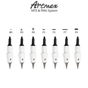 50pc Artmex aiguille Cartouche Artmex V8 V9 V6 Machine V3 Tattoo cartouche d'aiguille