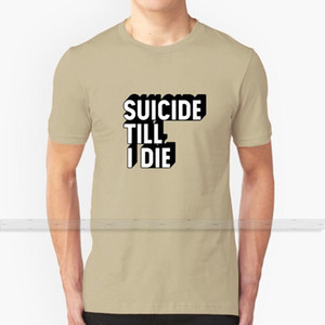 Suicide Till I Die T Shirt Custom Design Cotton For Men Women T - Shirt Summer Tops Suicideboys Suicide Boy Sui Ftp G59 Record