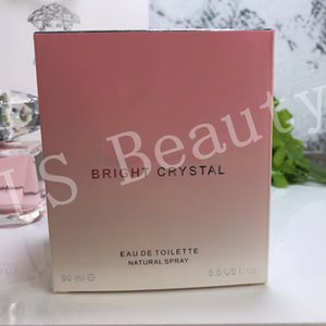 Drop shipping Pink Crystal Women's Perfume 90ml Durable High Quality Elegant Lady Eau de Toilette fast Shipping