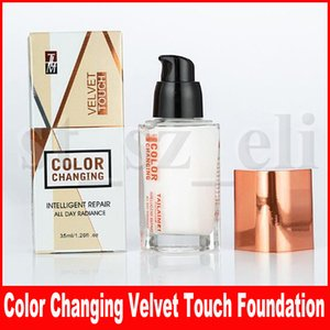 TLM Velvet Touch Colour Changing Foundation Concealer All Day Radiance Intelligent Repair Concealer 35ml TAILAIMEI Makeup