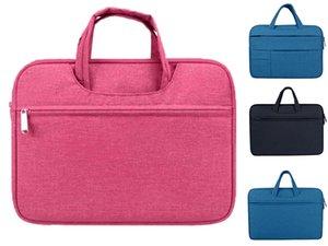 15,6 Дюйма Сумка Для Ноутбука Портфель Для Macbook Air 11 Air 13 Pro 13 Pro Мужчины Водонепроницаемый Messenger File Bag Business Office Tote #580