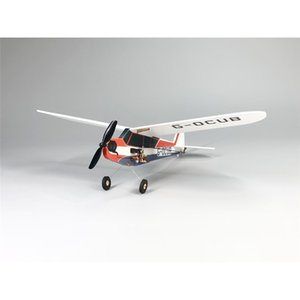 Hot Sale J3-Cub MinimumRC Bankyard Flyer 360mm Wingspan Remote Control Toys RC Airplane KIT PNP RC Toys for Kids Children Gift