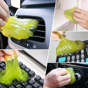160g Magic Cleaner Auto Reinigungswerkzeug Super Sauberer Kleber Auto Home Computer Tastatur Staubentferner Reinigungswerkzeuge