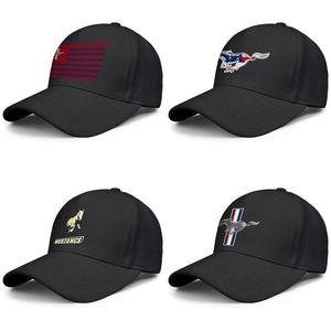 Ford Mustang original mens e mulheres logotipo EcoBoost caminhoneiro ajustável design tampa personalizada legal melhores baseballhats efeito 3D flag gt
