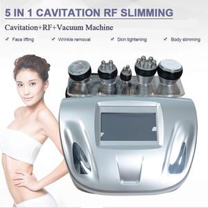 NUEVA cavitación ultrasónica RF que adelgaza la máquina de liposucción PÉRDIDA DE PESO tripolar máquina de drenaje linfático presoterapia Red de fotones RF