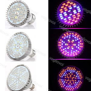 Led Grow Light Full Spectrum Par38 E27 30W 50W 80W SMD 5730 Aluminium For Covered Grow Tent Green Houses Plant Hydroponic Systems DHL