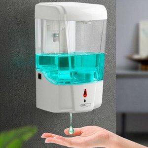 700 мл Автоматический дозатор мыла USB Smart Sensor большой емкости ванная комната жидкий дезинфицирующее средство диспенсер туалет бесконтактный дозатор мыла YYA118