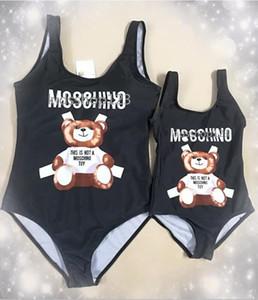 Nova Família Matching Swimsuit Backless Swimwear Mãe Filha Mulheres Criança Biquinis de banho Set 2020 verão Beachwear