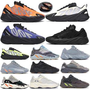 Con Box 700 kanye Zapatillas de running Vanta Static Geode reflective Mauve Designer Shoes Solid Grey Hombres Mujeres Zapatillas de deporte 36-46