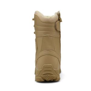 Мужские Открытый Туризм Combat Military Boots обувь для кемпинга Tactical пустыне Нью